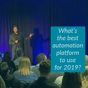 What's the best automation platform to use for 2019