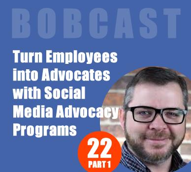 social media advocacy program podcast